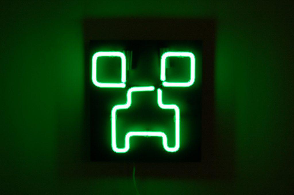 Makezine.com - Neon Creeper Lights up the Night